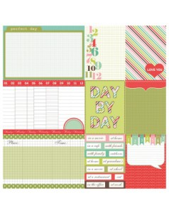 Dwustronny papier do scrapbookingu Everyday ScrapBerry's