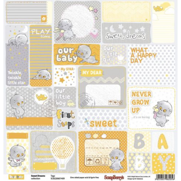 Papier do scrapbookingu ScrapBerry's