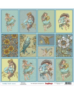 Dwustronny papier do scrapbookingu  Fairy Tale ScrapBerry's