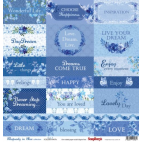 Papier do scrapbookingu Rhapsody in Blue ScrapBerry's