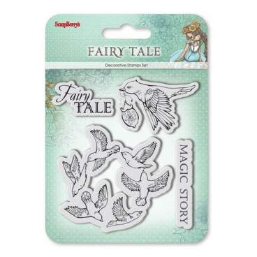 Zestaw stempli 10,5*10,5cm-Fairy Tale: Magic Story ScrapBerry's
