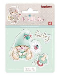 Zestaw stempli 7*7cm-Bunny My Little Star - ScrapBerry's