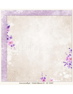 Lemon Craft papier do scrapbookingu - Violet Silence 02