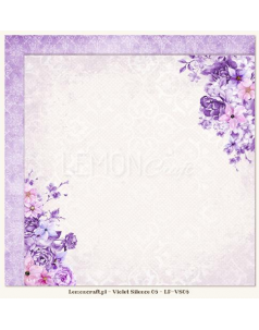 Lemon Craft papier do scrapbookingu - Violet Silence 06