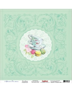 Papier do scrapbookingu Afternoon Tea, Tea Parlor ScrapBerry's