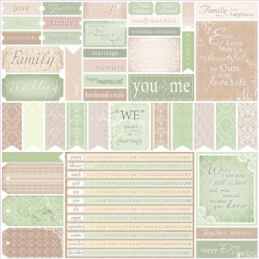 Papier do scrapbookingu For Wedding cards1 ScrapBerry's