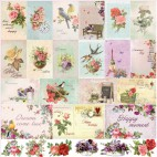 Dwustronny papier do scrapbookingu French Journey ScrapBerry's