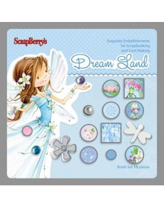 Ćwieki ScrapBerry's Dream Land 1 - 15szt