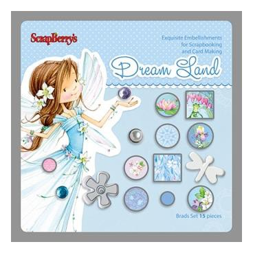 Ćwieki ScrapBerry\'s Dream Land 1 - 15szt